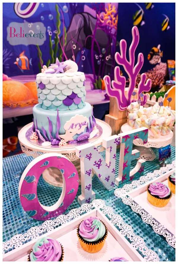 Under The Sea Theme Birthday Party Decoration 1