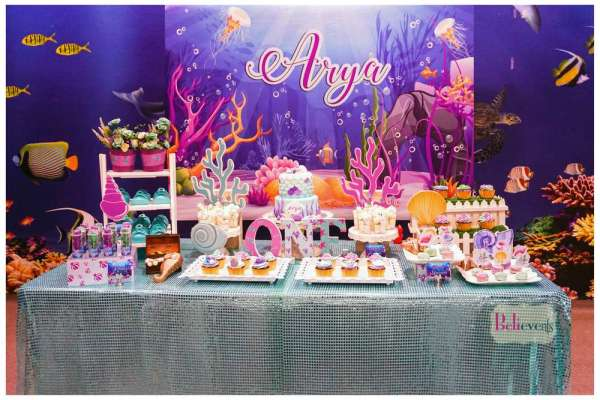 Under The Sea Theme Birthday Party Decoration 2