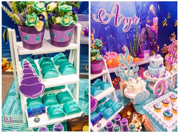 Under The Sea Theme Birthday Party Decoration 3