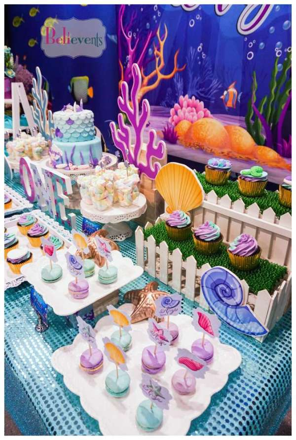 Under The Sea Theme Birthday Party Decoration 4