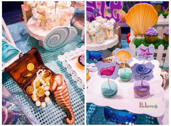 Under The Sea Theme Birthday Party Decoration 6