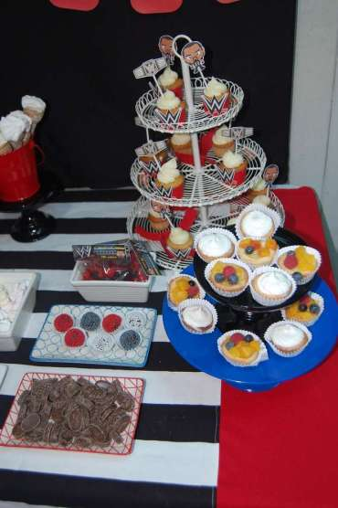 WWE Theme Birthday Party Food 2