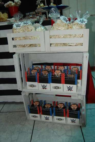 WWE Theme Birthday Party Food