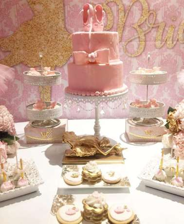 Ballerina Theme Party Cake 2