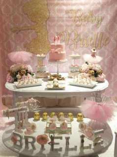 Ballerina Theme Party Decoration 2