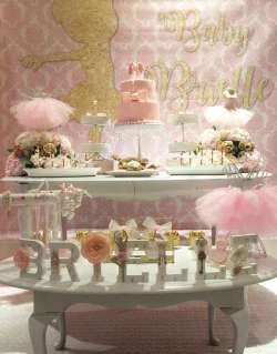 Ballerina Theme Party Decoration
