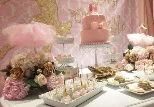 Ballerina Theme Party Food 2