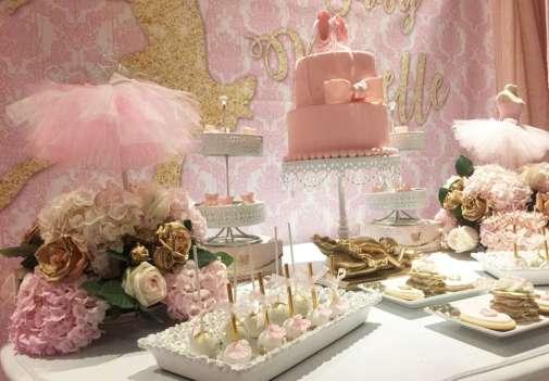 Ballerina Theme Party Food 2