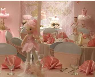 Ballerina Theme Party Venue 2
