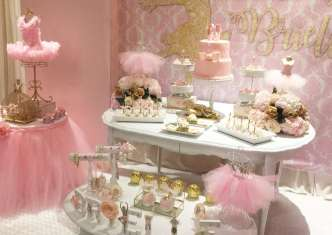 Ballerina Theme Party Venue 3