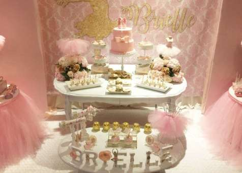 Ballerina Theme Party Venue 6