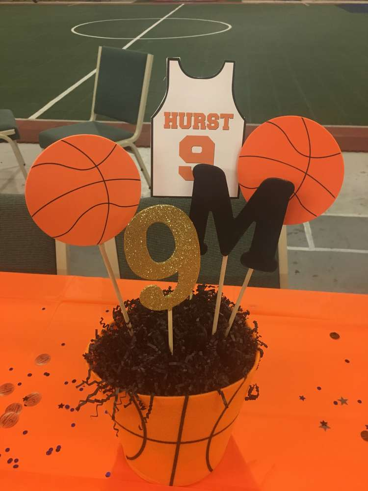 Basketball theme birthday party venuemonk