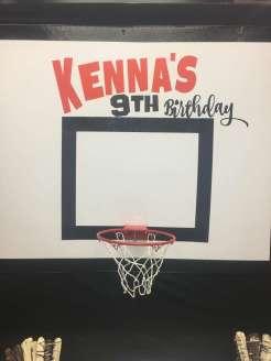 Basketball Theme Birthday Party Decoration 2