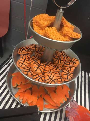 Basketball Theme Birthday Party Food 2
