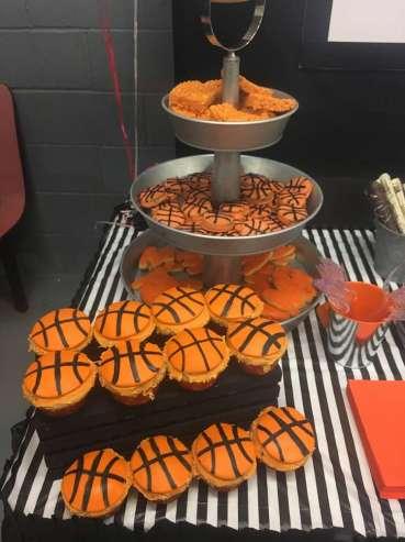 Basketball Theme Birthday Party Food 3