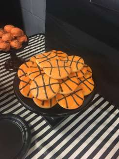 Basketball Theme Birthday Party Food 5