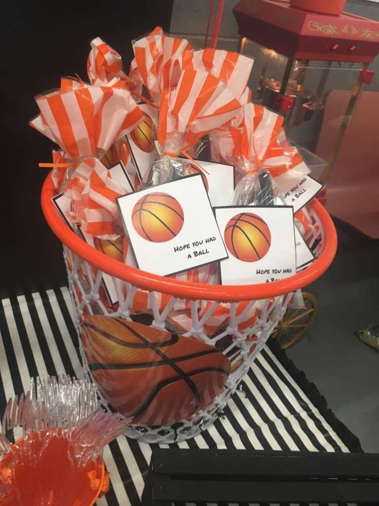 Basketball Theme Birthday Party Return Gifts
