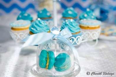 Blue Elephant Theme Birthday Party Food 2