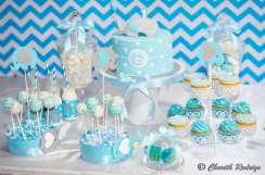 Blue Elephant Theme Birthday Party Food 6
