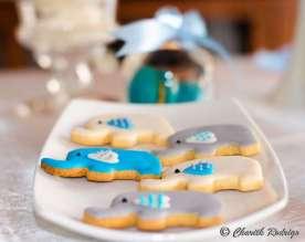 Blue Elephant Theme Birthday Party Food 9