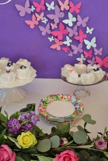 Butterfly Theme Birthday Party Food