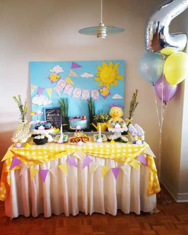 Duck Theme Birthday Party Decor 2