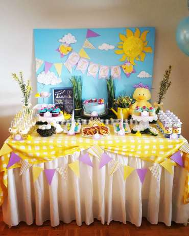 Duck Theme Birthday Party Decor
