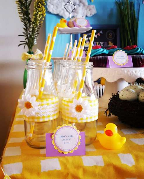 Duck Theme Birthday Party Food