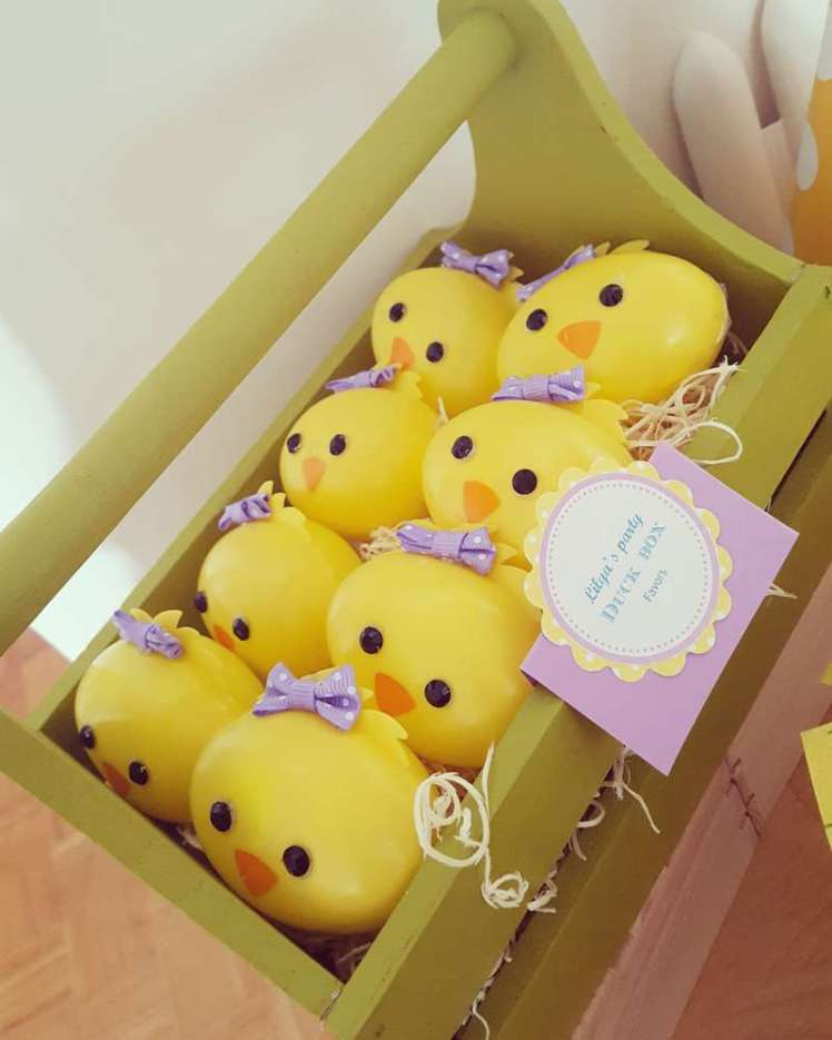 Duck Theme Birthday Party Return Gifts