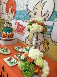 Flintstones Pebbles and Bamm Bamm Theme Party Decoration 5