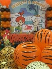 Flintstones Pebbles and Bamm Bamm Theme Party Decoration 6