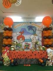 Flintstones Pebbles and Bamm Bamm Theme Party Venue