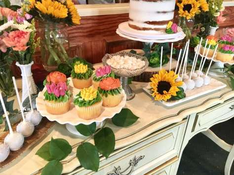 Flower Theme Party Food 5