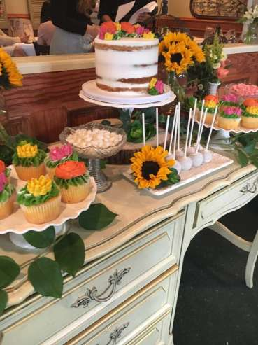 Flower Theme Party Food 6