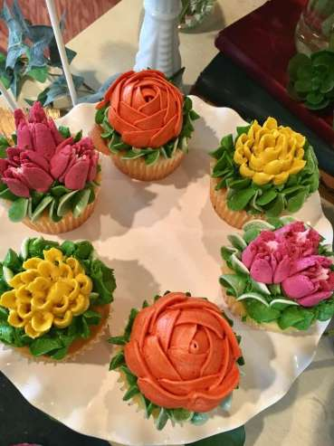 Flower Theme Party Food