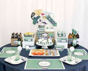 Golf Theme Birthday Party Decoration 4