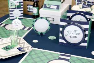 Golf Theme Birthday Party Decortion 8