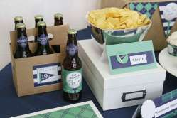 Golf Theme Birthday Party Food and Drinks