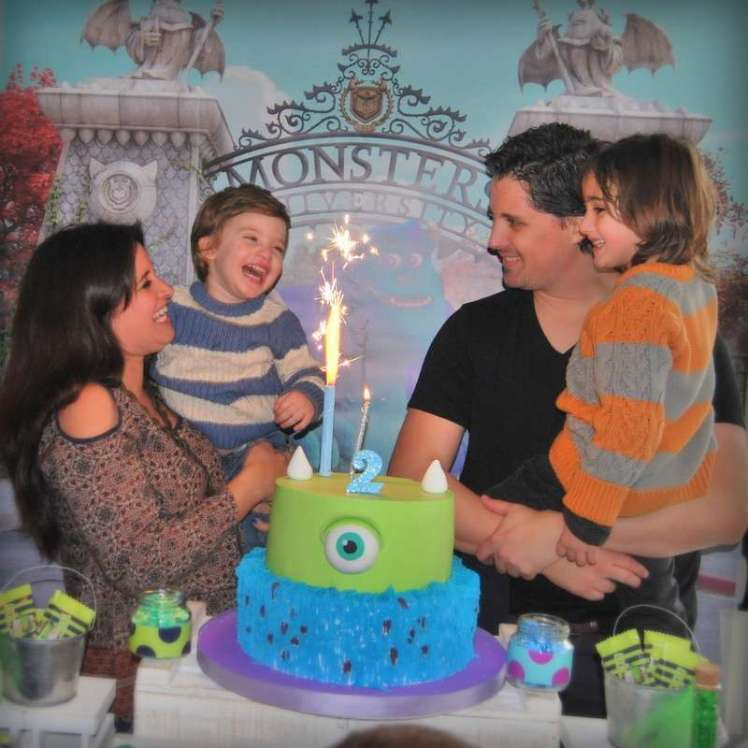 Monster University Party Birthday Family