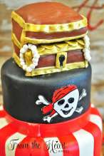 Pirate Theme Birthday Party Cake 4
