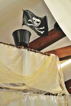 Pirate Theme Birthday Party Decoration 12