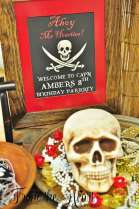 Pirate Theme Birthday Party Decoration 13