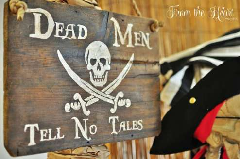 Pirate Theme Birthday Party Decoration 7