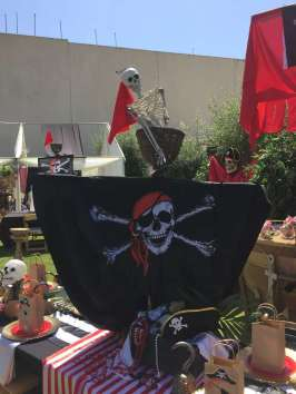 Pirate Theme Birthday Party Decoration 8