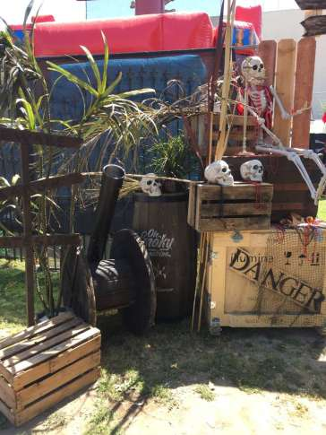 Pirate Theme Birthday Party Entrance