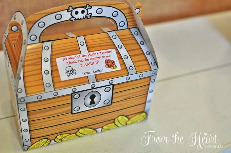 Pirate Theme Birthday Party Return Gifts