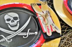 Pirate Theme Birthday Party Table Decoration 5
