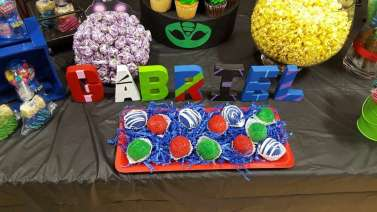 PJ Masks Theme Birthday Party Decoration 10