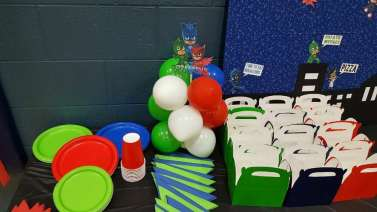 PJ Masks Theme Birthday Party Decoration 12