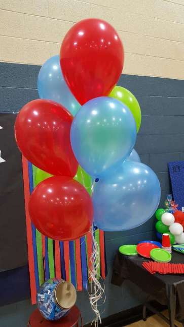 PJ Masks Theme Birthday Party Decoration 13